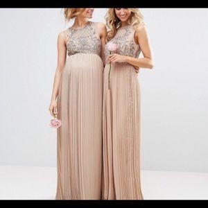 7073a51ae33c0 ASOS Dresses | Gorgeous Embellished Maya Maternity Dress | Poshmark